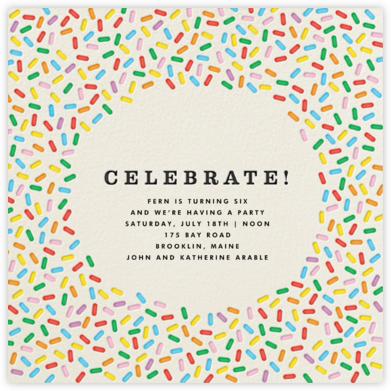 Sprinkles - Celebrate  - The Indigo Bunting