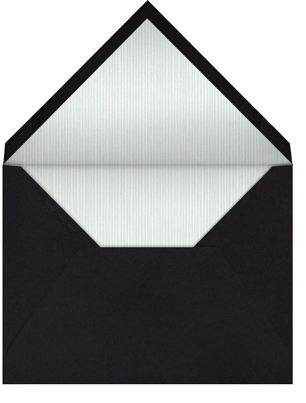 Snakeskin (Silver) - Paperless Post - Adult birthday - envelope back