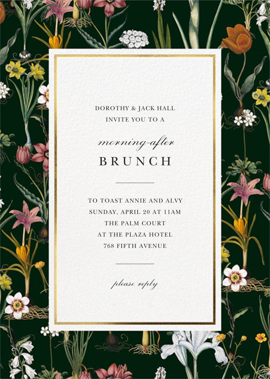 Ars Botanica - Oscar de la Renta - Wedding weekend