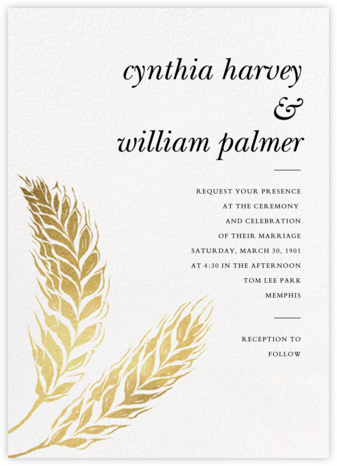 Proserpine (Invitation) - Paperless Post - Wedding Invitations