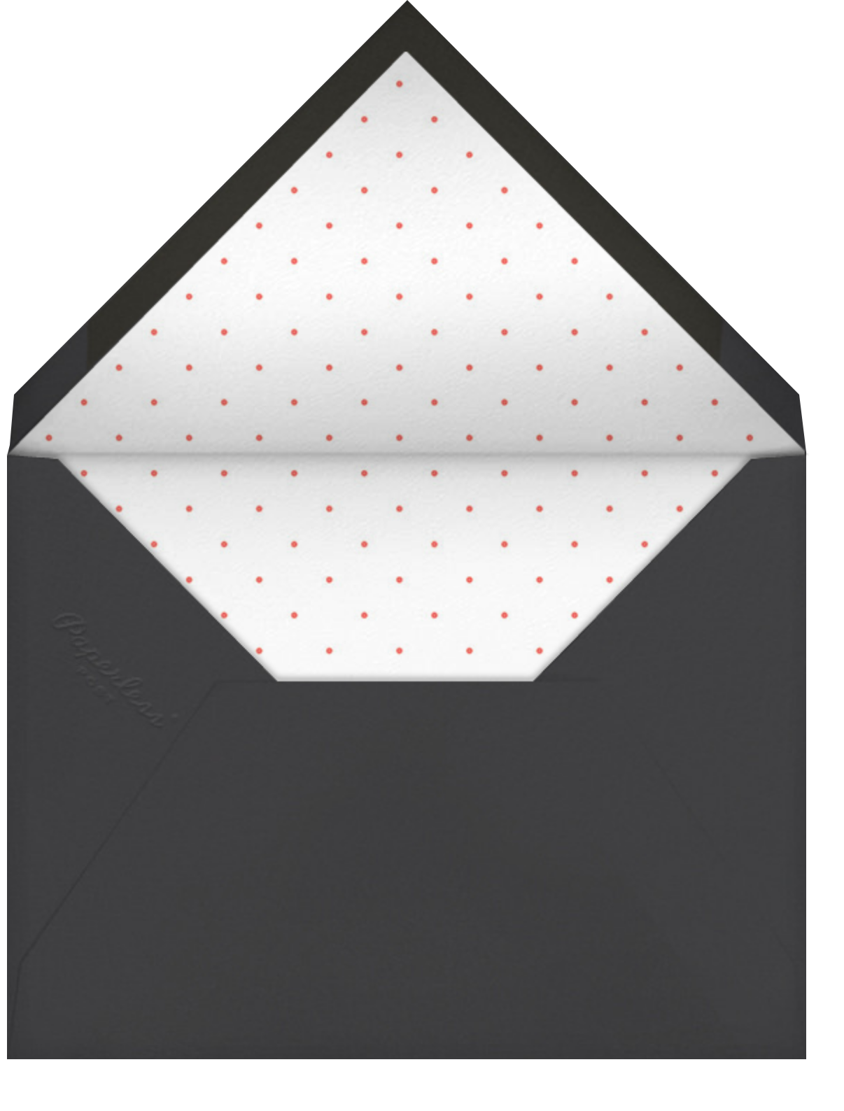 Meridian - Paperless Post - Farewell party - envelope back