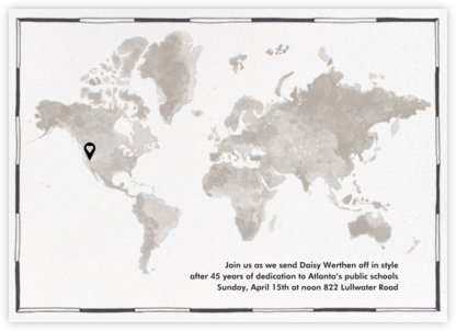 Meridian - Paperless Post - Celebration invitations