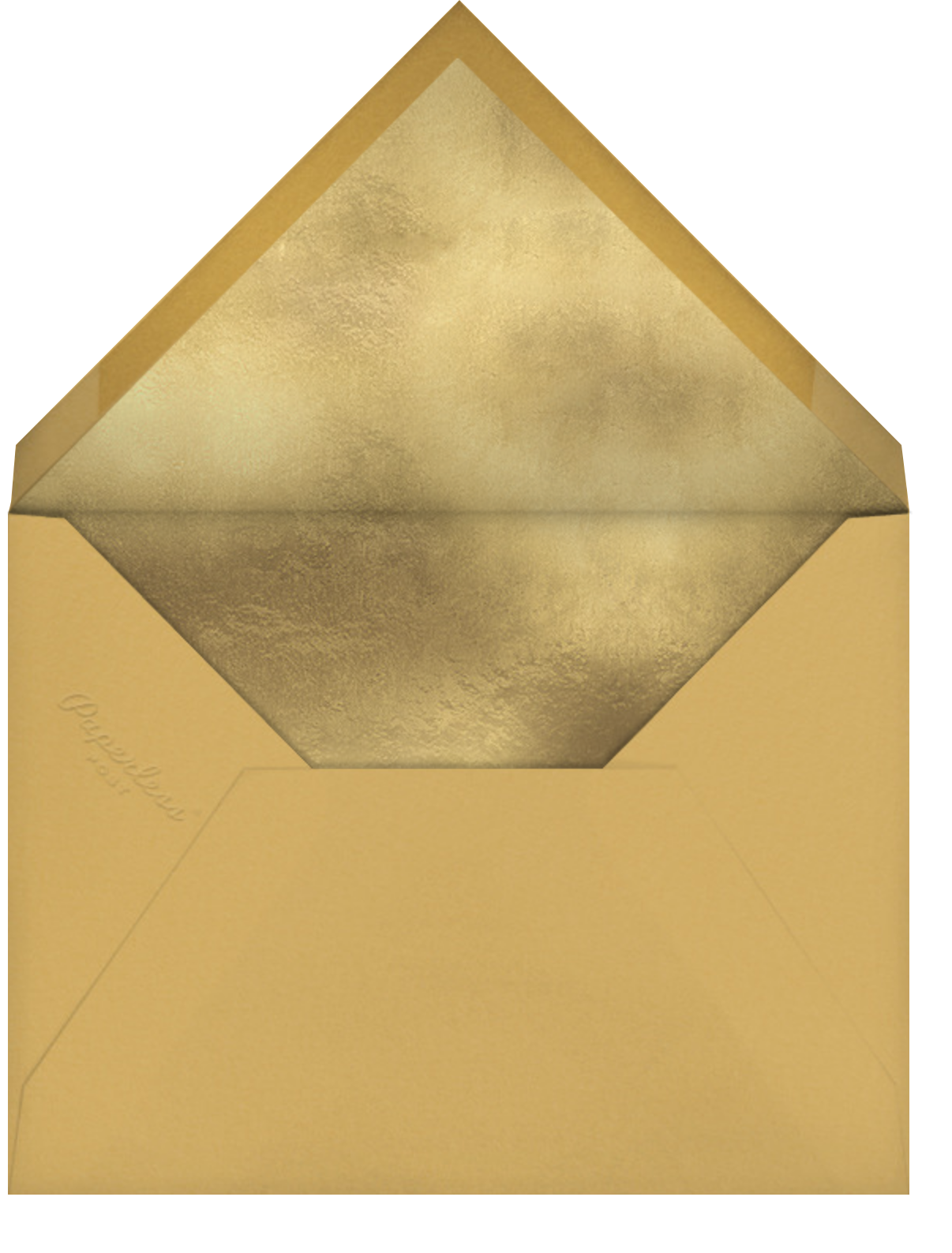 Fillet - Palm - Paperless Post - Cocktail party - envelope back