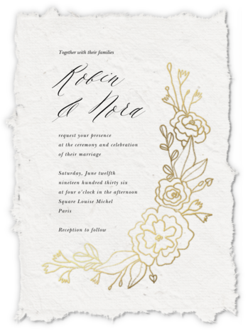 Papier D'armenie (Invitation) - Paperless Post - Wedding invitations