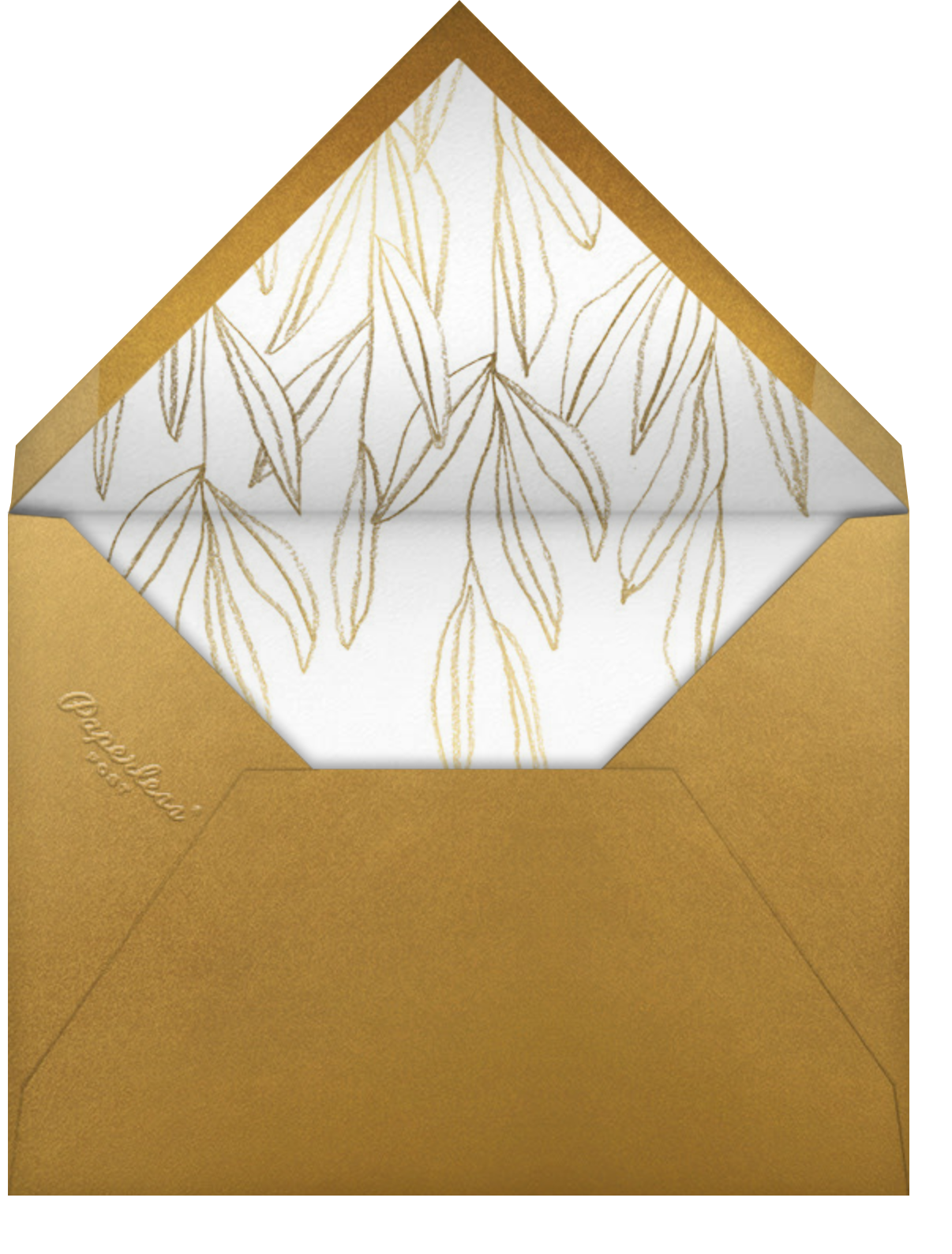 Aravah (Invitation) - Paperless Post - All - envelope back