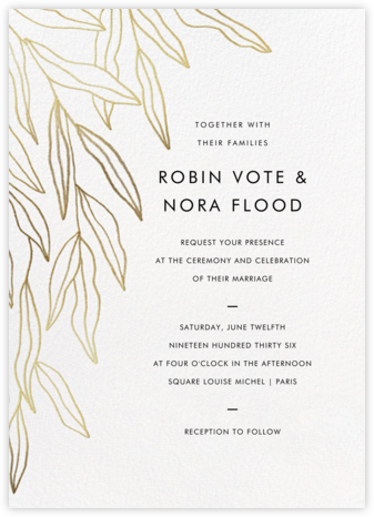 Aravah (Invitation) - Paperless Post - Wedding Invitations