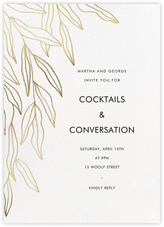 Aravah - Paperless Post - Fall Entertaining Invitations