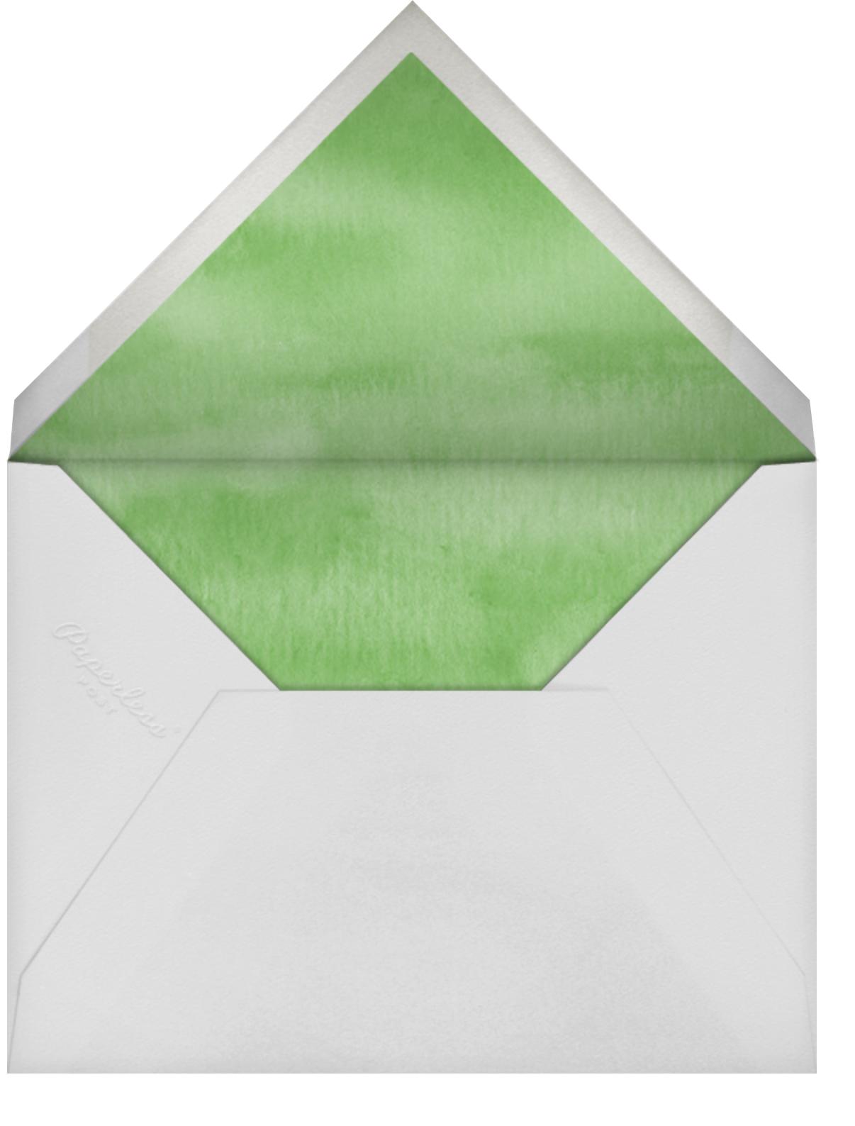 Spring Wreath - Felix Doolittle - Mother's Day - envelope back
