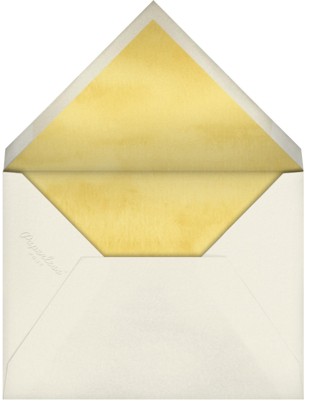 Gingko - Felix Doolittle - General entertaining - envelope back