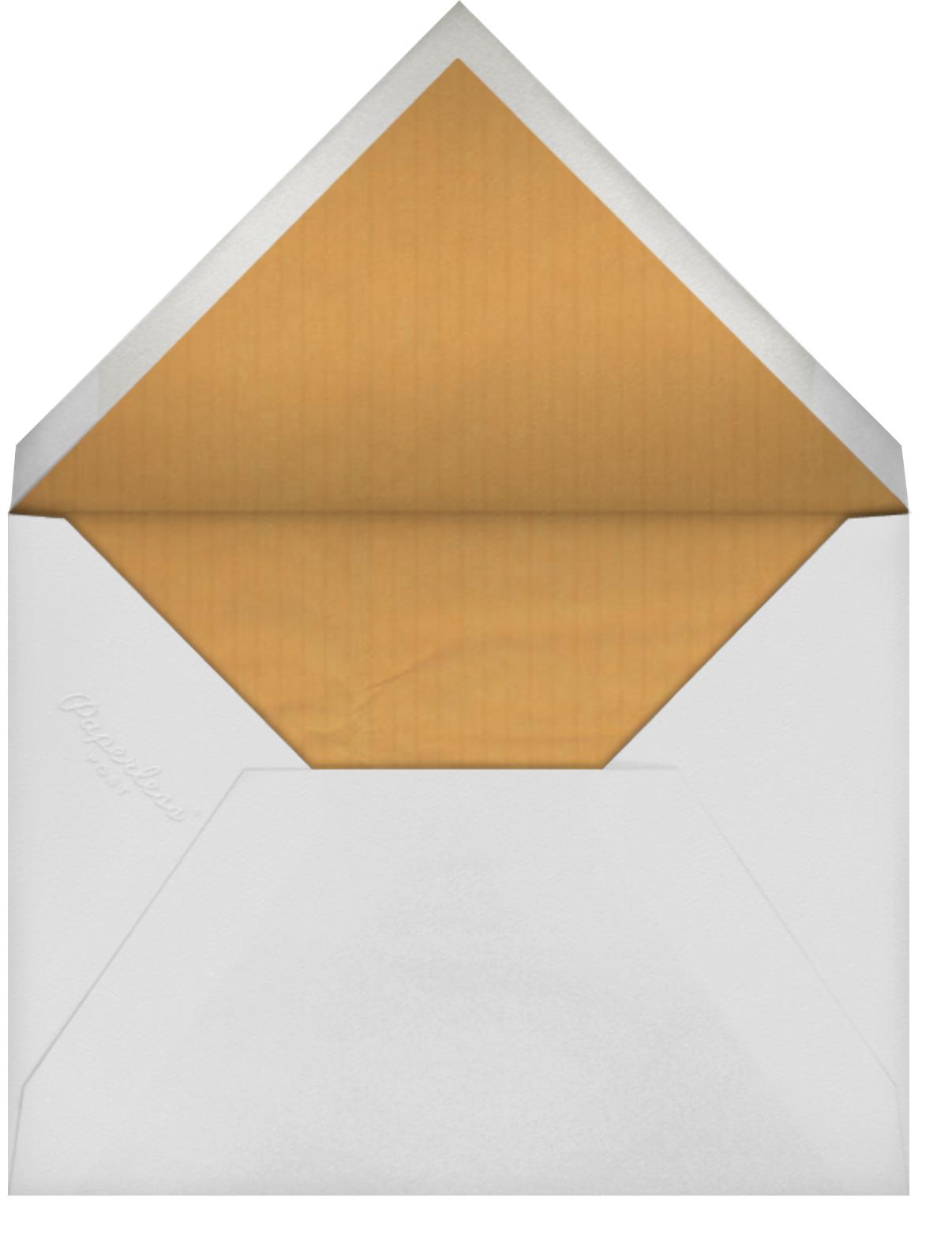 Tender Buttons - Indigo - Anthropologie - Thank you - envelope back