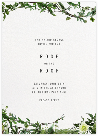Chincoteague Vine - Paperless Post - Dinner Party Invitations