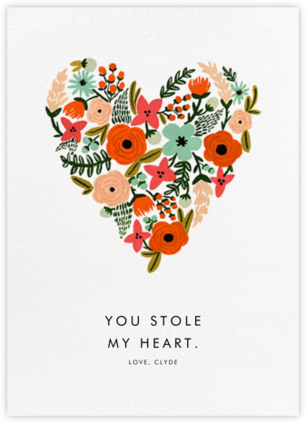 Heart of Plenty - Rifle Paper Co. - Valentine's day cards