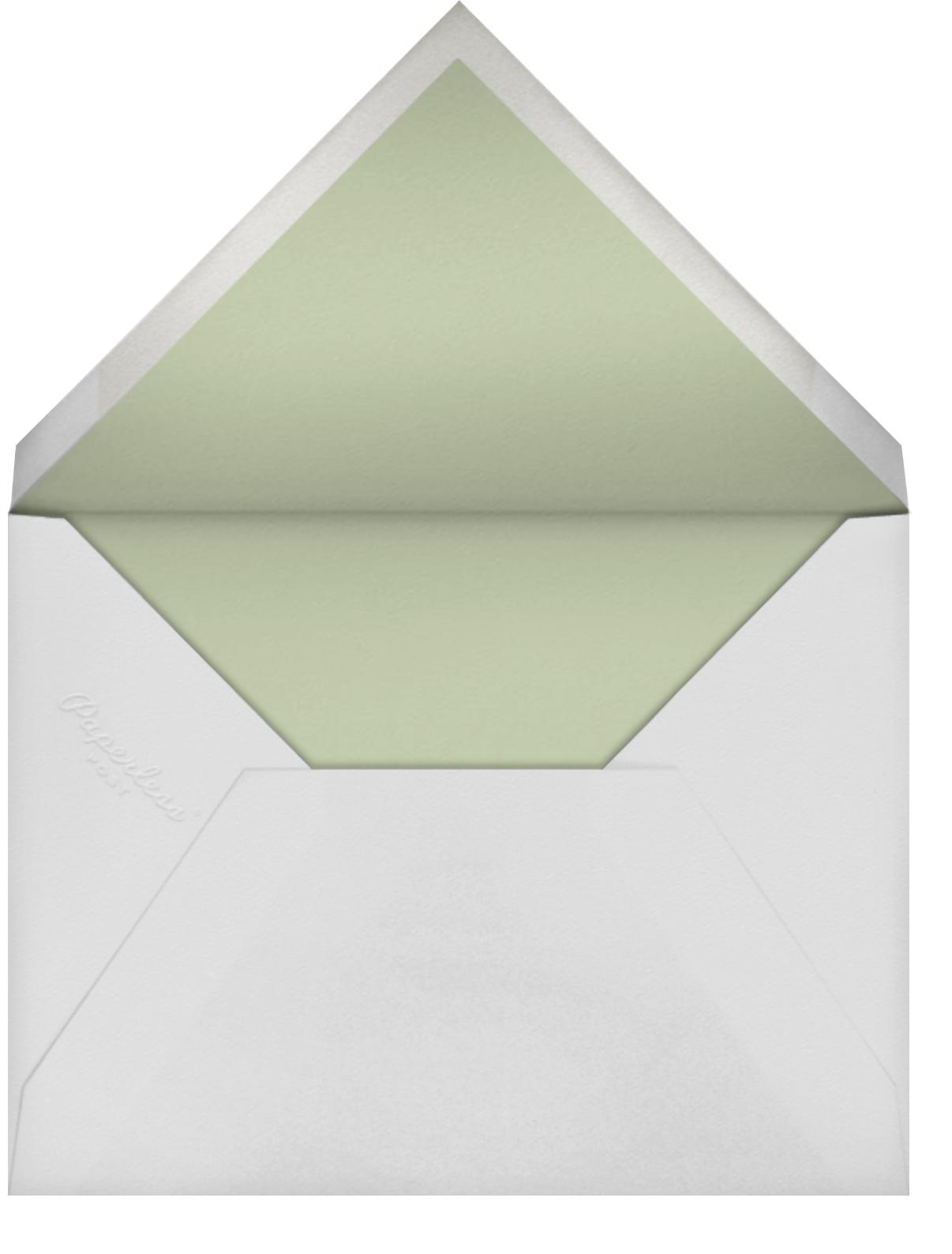 Love Nest (Invitation) - Paperless Post - Baby shower - envelope back