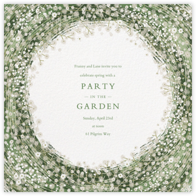Love Nest (Invitation) - Paperless Post - Spring Party Invitations