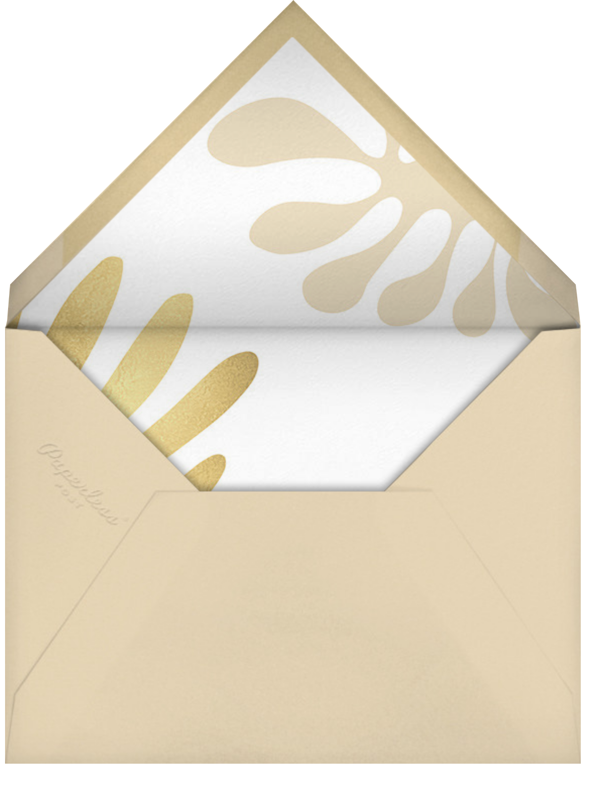 Fauves D'Or (Invitation) - Paperless Post - Adult birthday - envelope back