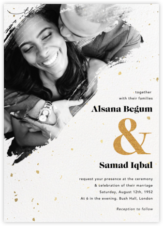 Pintura (Invitation) - Paperless Post - Wedding Invitations