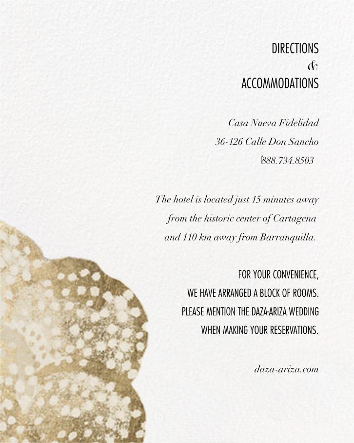 Flaunt (Invitation) - Metallic - Kelly Wearstler - All - insert front