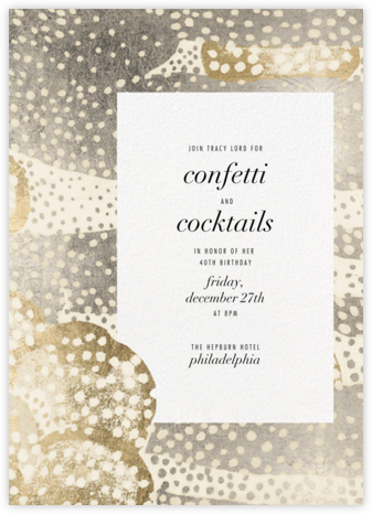 Flaunt - Metallic - Kelly Wearstler - Kelly Wearstler Invitations