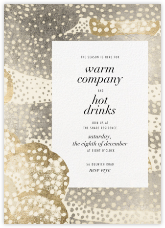 Flaunt - Metallic - Kelly Wearstler - Winter entertaining invitations