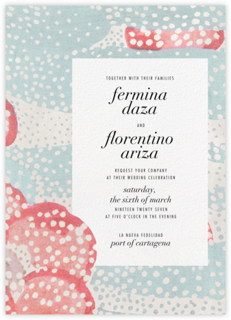 Flaunt (Invitation) - Capri - Kelly Wearstler - Kelly Wearstler wedding