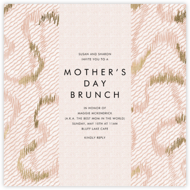 Acclaim - Kelly Wearstler - Online Mother's Day invitations