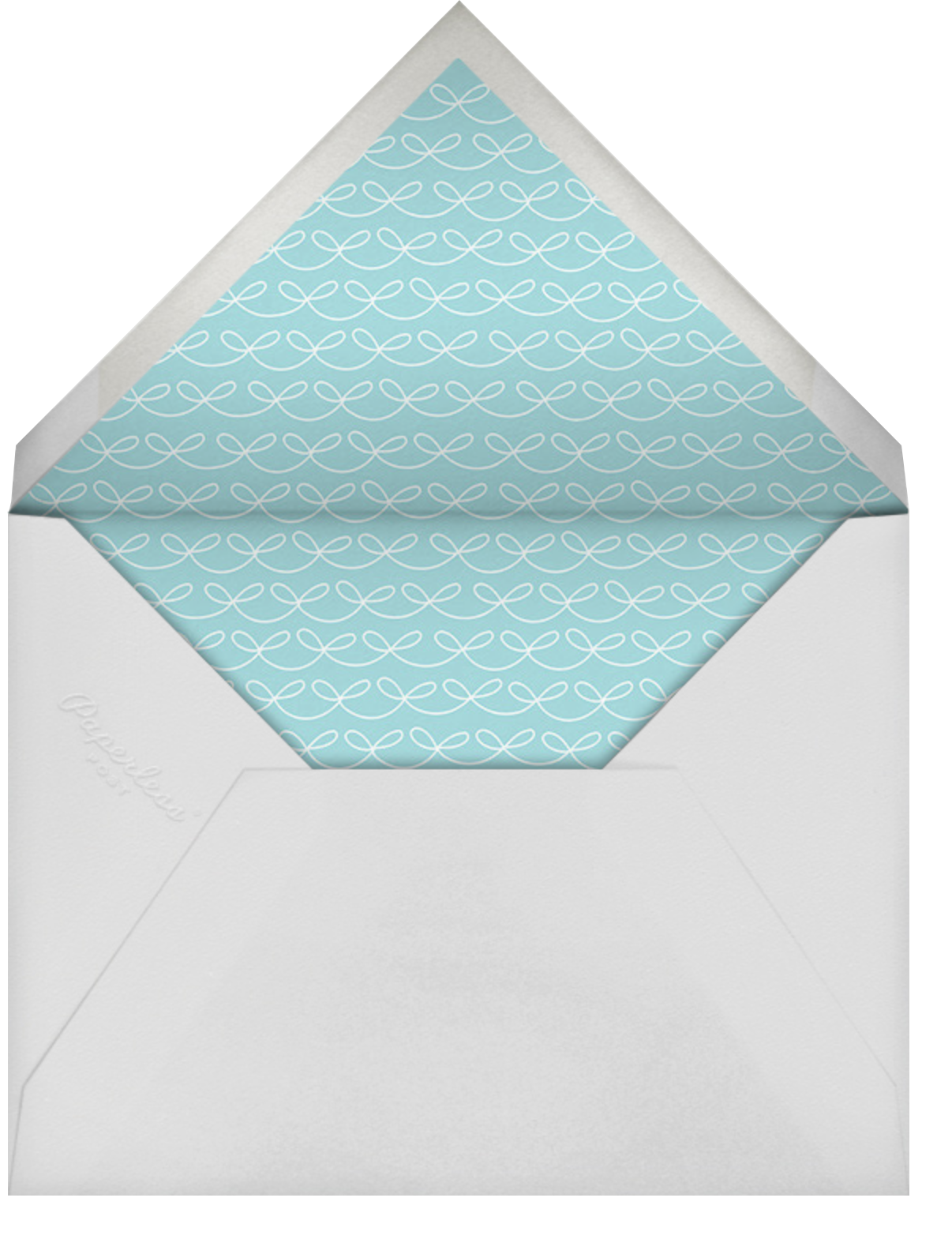Put a String on It - Indigo - Cheree Berry - Save the date - envelope back