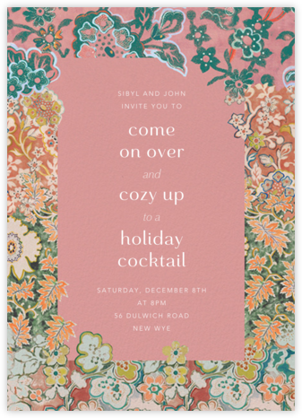 Morris Frame - Anthropologie - Holiday invitations