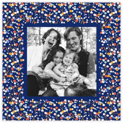 Tender Buttons Photo - Blue - Anthropologie - Hanukkah photo cards