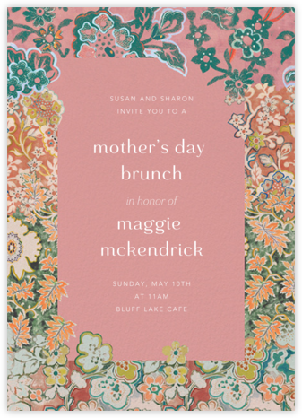 Morris Frame - Anthropologie - Online Mother's Day invitations