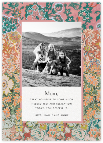 Morris Frame Photo - Anthropologie - Mother's Day Cards