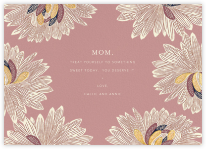 Mumsy - Tea Rose - Anthropologie - Holiday cards