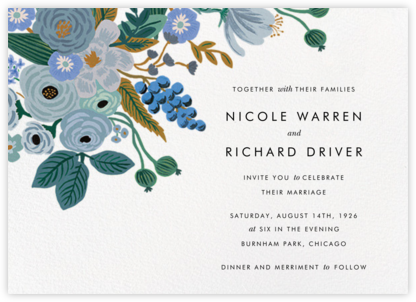 Autumn Knoll (Invitation) - Rifle Paper Co. - Rifle Paper Co. Wedding