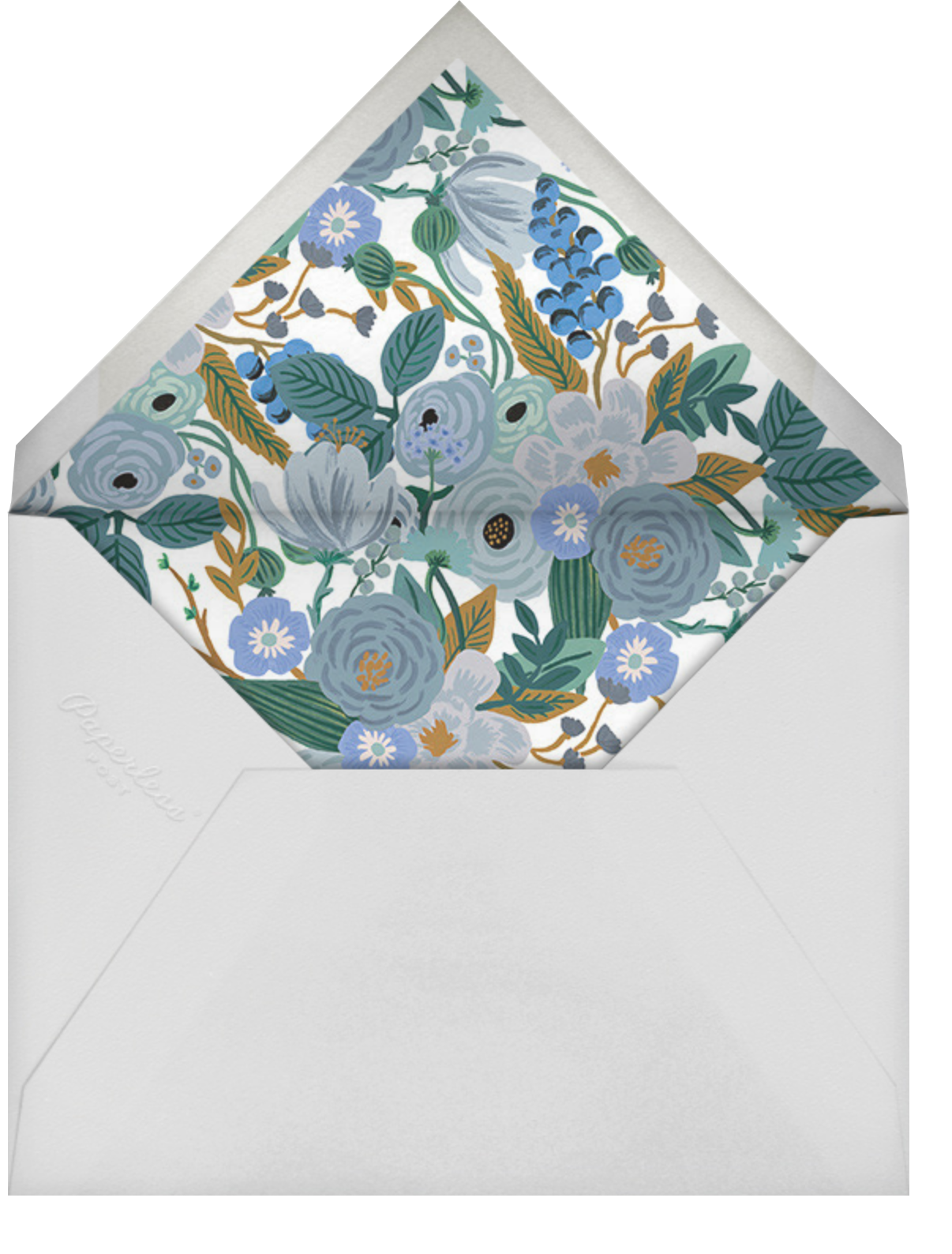 Autumn Knoll - Rifle Paper Co. - Thank you - envelope back