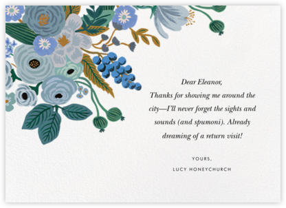 Autumn Knoll - Rifle Paper Co. - Online Thank You Cards