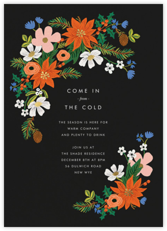 Winter Wildwood - Rifle Paper Co. - Winter entertaining invitations