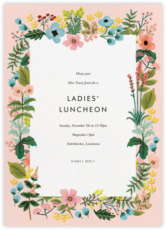 Spring Gathering - Meringue - Rifle Paper Co. - Brunch invitations