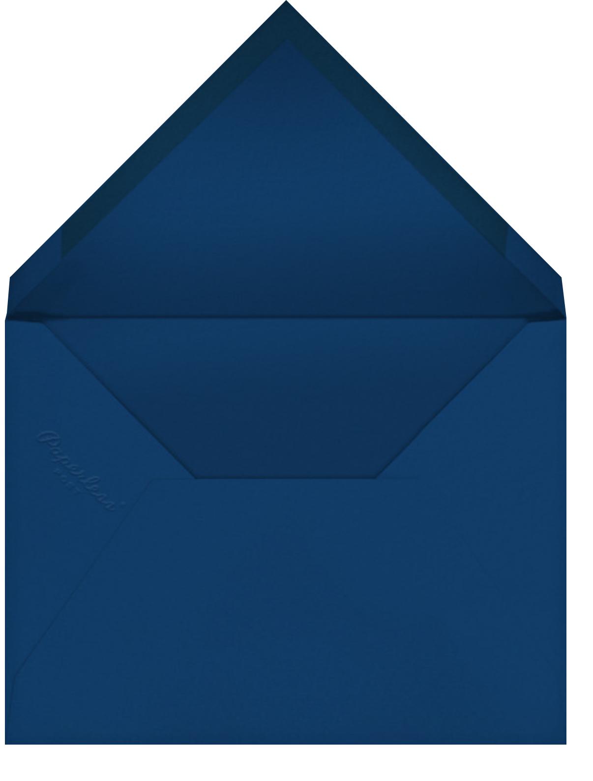 Hanukkah Dots Invitation - Paperless Post - Hanukkah - envelope back