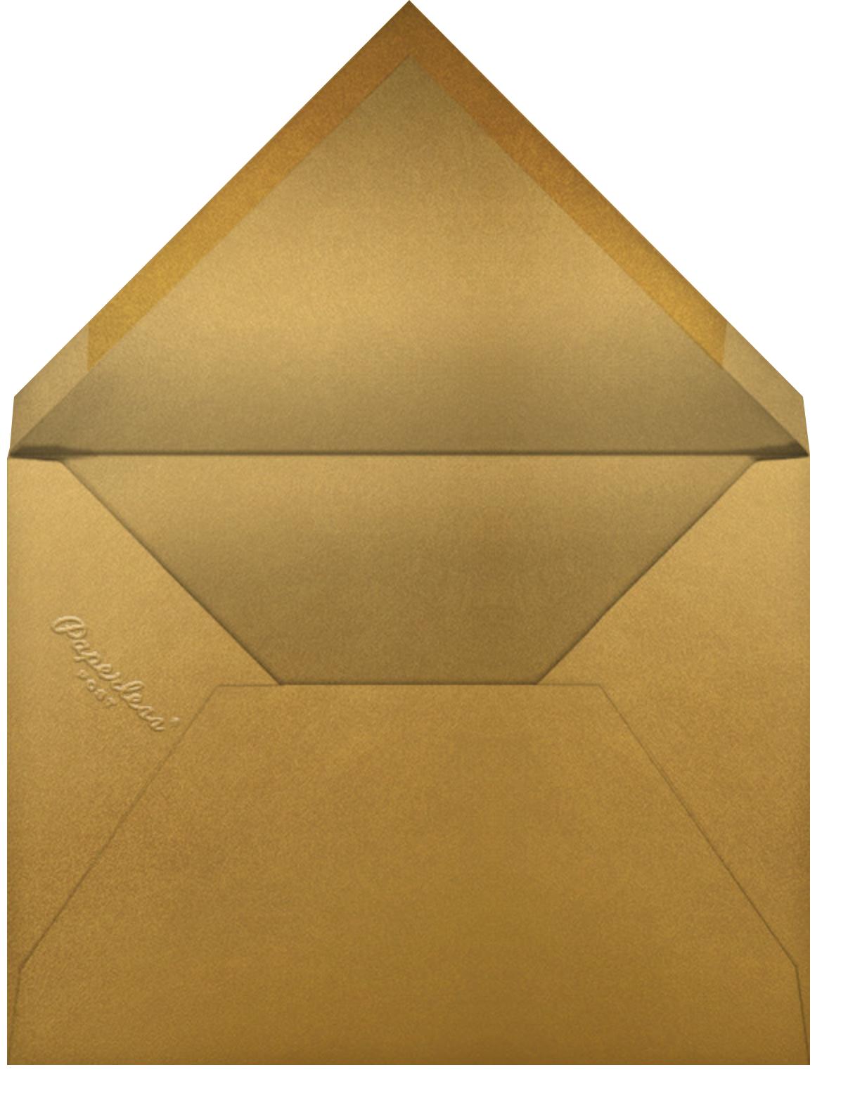 Knotwork Cream Square - Paperless Post - General entertaining - envelope back
