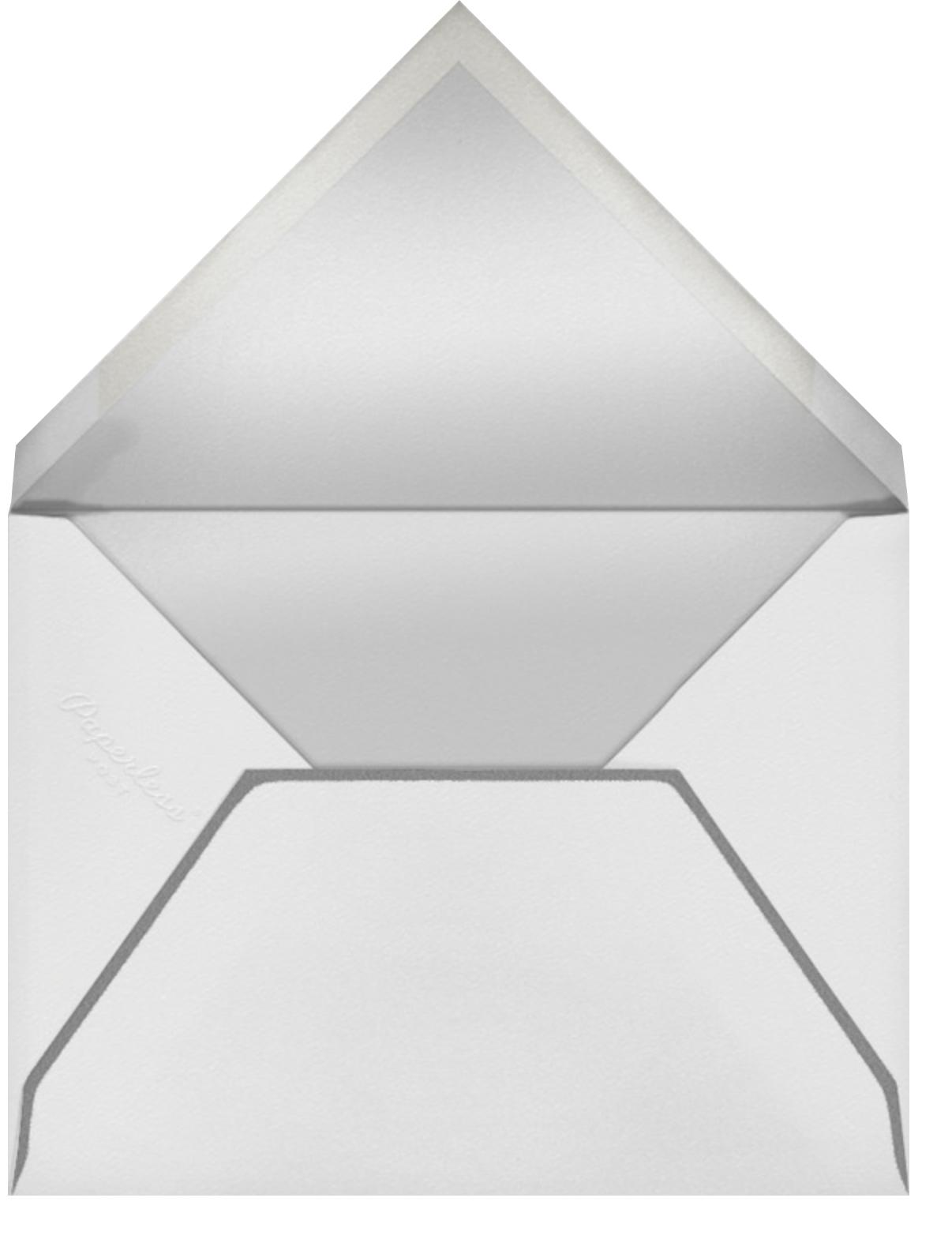 Wise Ass - Paperless Post - Graduation - envelope back