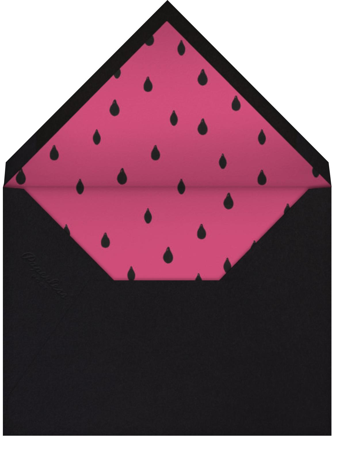 Watermelons (Light Blue) - Paperless Post - Envelope
