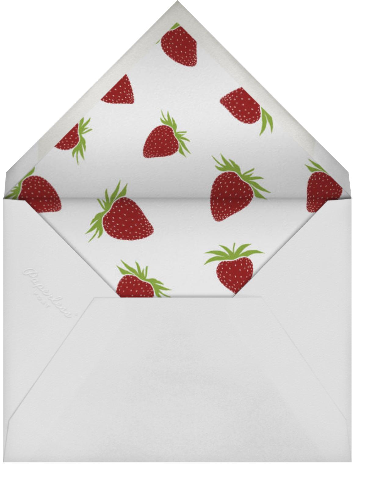 Strawberries (Square) - Paperless Post - Summer parties - envelope back