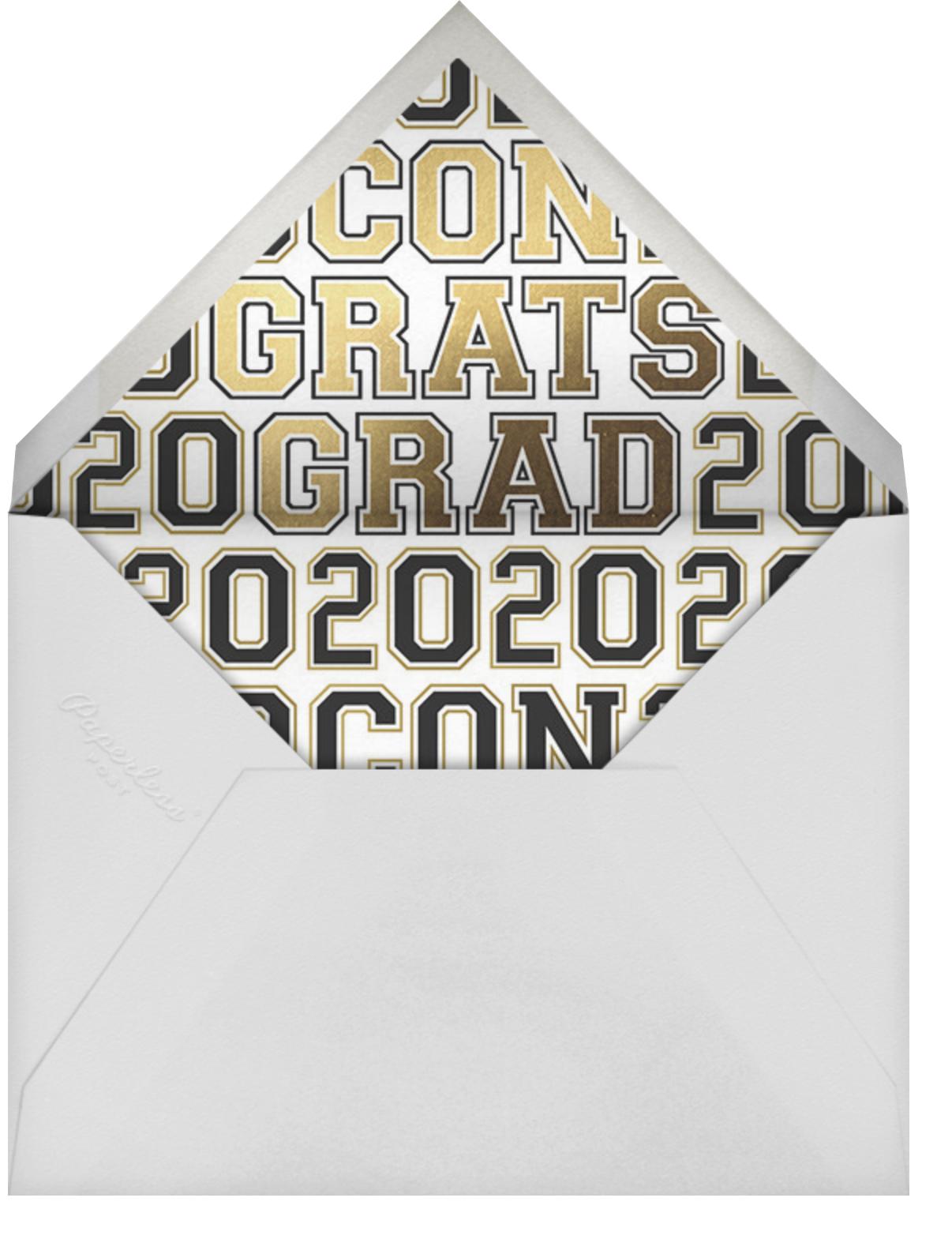 Rad Grad - Cheree Berry - Graduation - envelope back