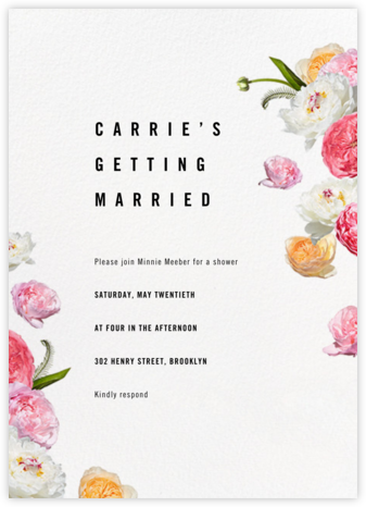 Brunswick - Paperless Post - Bridal shower invitations