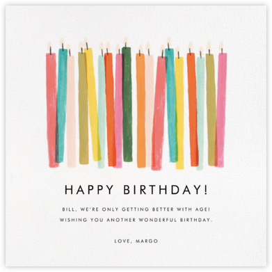 Candle Stand - Rifle Paper Co. - Birthday