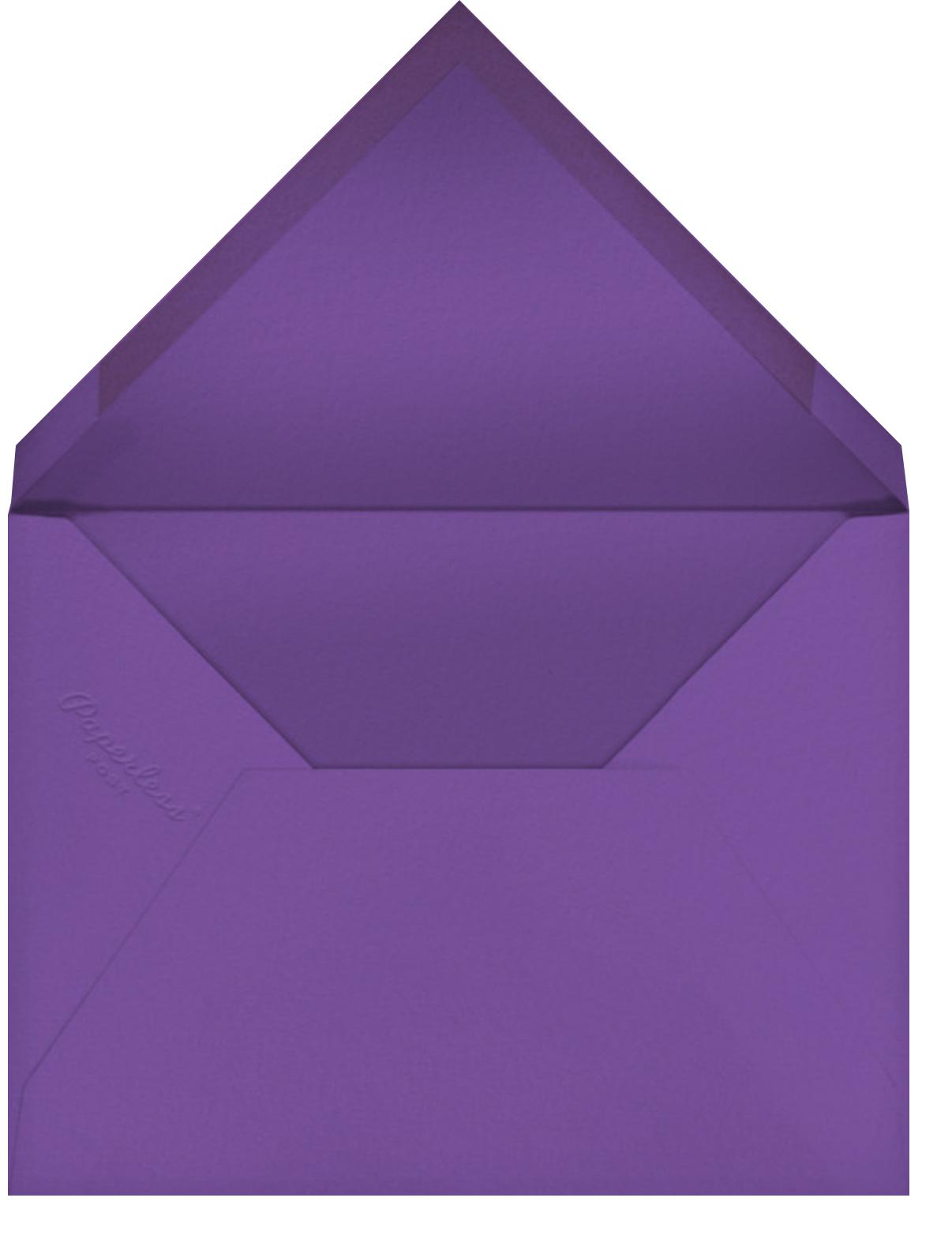 Rive Gauche - Purple - Paperless Post - General entertaining - envelope back