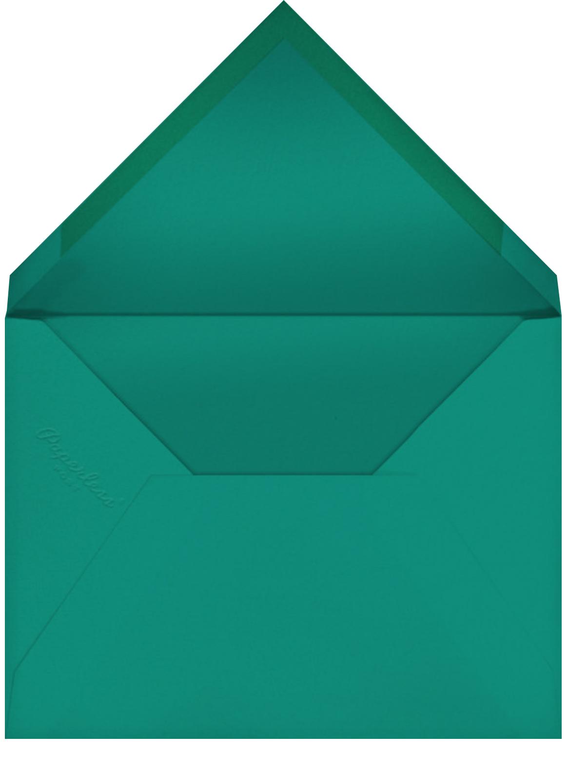 Mustard (Tall) - Paperless Post - Envelope