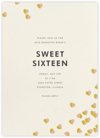 Better Halves - Pink/Paella - kate spade new york - Kate Spade invitations, save the dates, and cards