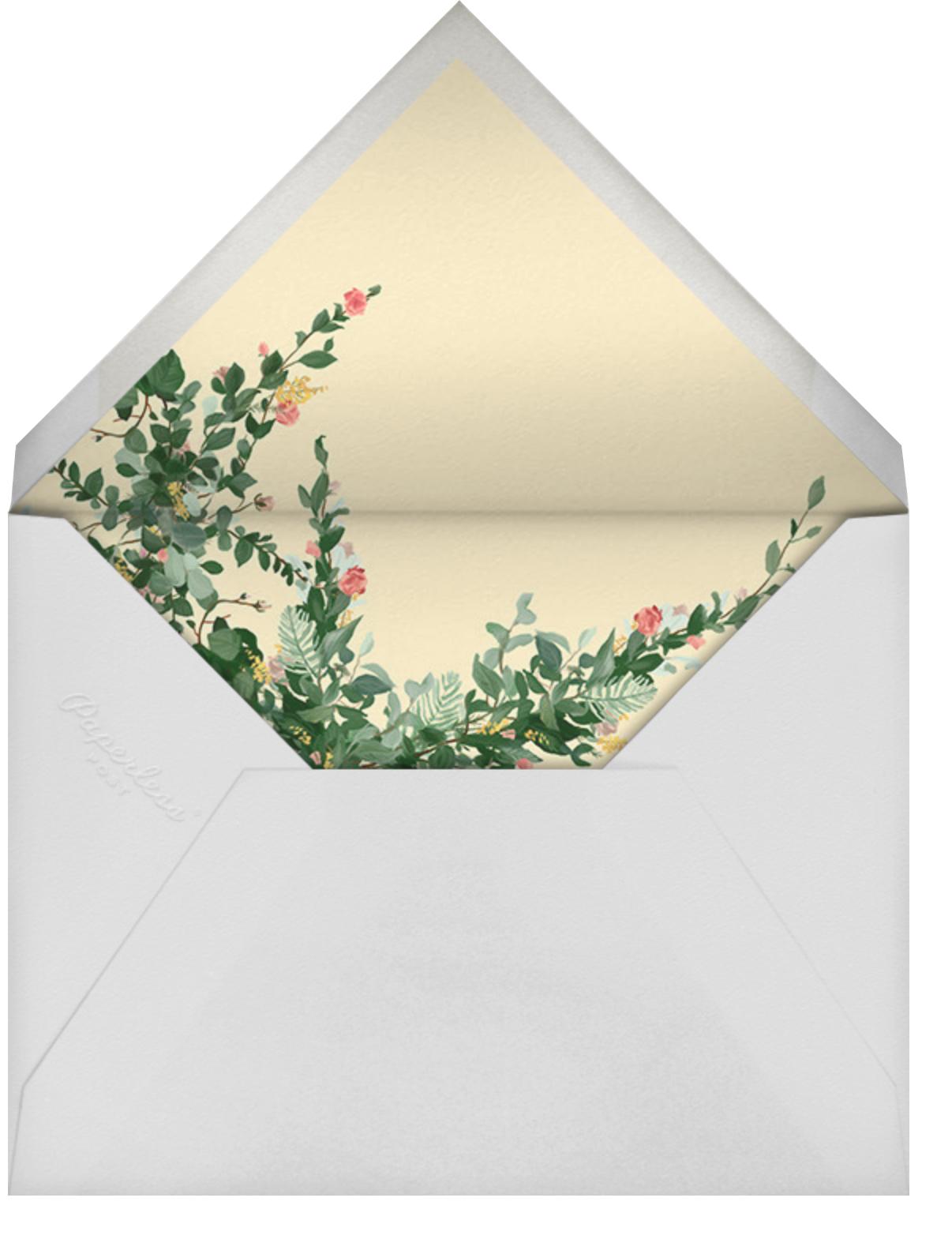 Rosedal - Blossom - Paperless Post - Bridal shower - envelope back
