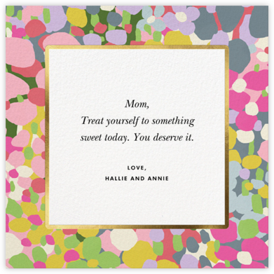 Fauve Border - kate spade new york - Mother's Day Cards