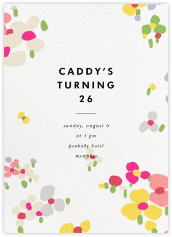 Fauvist Florals - kate spade new york - Adult Birthday Invitations